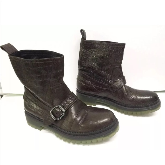 e4e181444c3a Jimmy Choo Mens Biker Boots Shoes Sz 42 Us 9